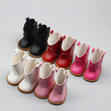 Boots Doll-Clothes Reborn American Accessories Girl Baby New Cute for 18-43cm BJD Suit