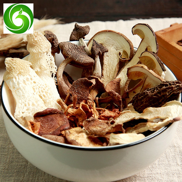 2020Yunnan Specialty Chicken Cong, Beef Liver, Morel Mushroom, Ingredients, Soup, Dried Fungus, 8 Kinds of Mix