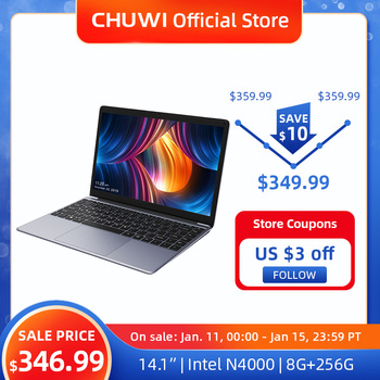 CHUWI HeroBook Pro 14,1 pulgadas 1920*1080 IPS pantalla Intel Celeron N4000 procesador DDR4 8GB 256GB SSD Windows 10 Laptop