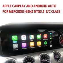 Car Video Interface with Apple Carplay and Android Auto for Mercedes-Benz C/E class W213 NTG5.5 Factory GPS Navigation