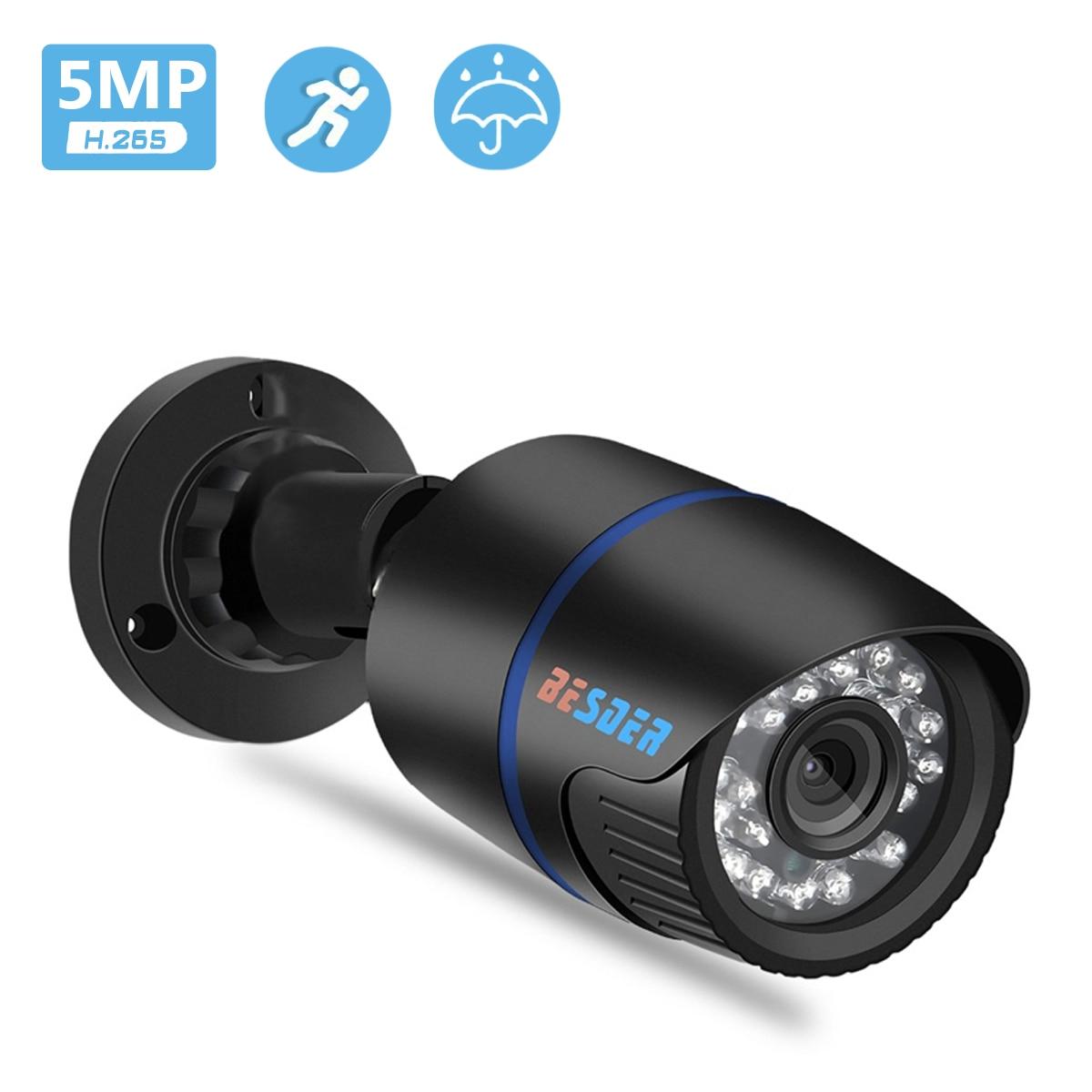 Besder 5mp 3mp hd 2.8mm de largura ip câmera 1080p e-mail alerta xmeye onvif p2p detecção movimento rtsp 48v poe vigilância cctv ao ar livre