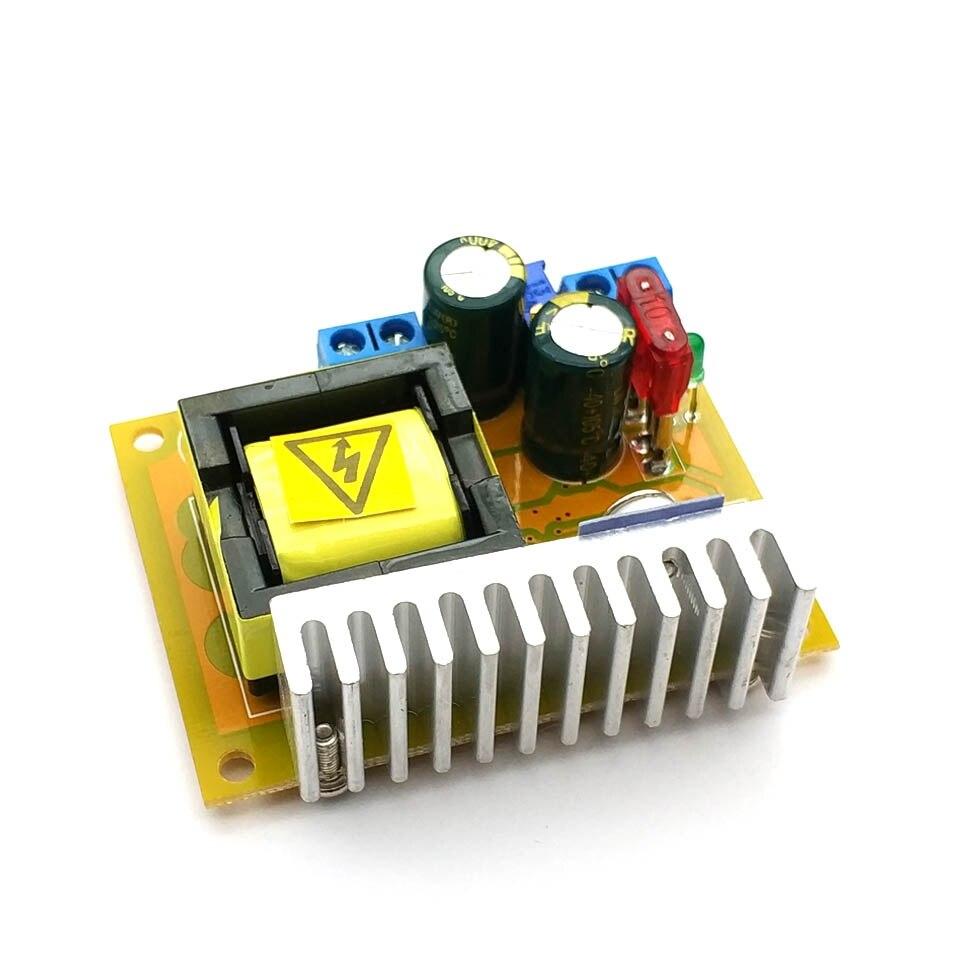 DC-DC повышающий преобразователь 8-32 В до 45-390 в высоковольтный ZVS конденсатор зарядная плата 220В 110В