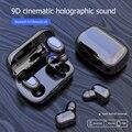 Беспроводные Bluetooth-наушники L21 TWS, спортивные водонепроницаемые мини-наушники-вкладыши с микрофоном, Поддержка iOS/Android, Bluetooth-наушники