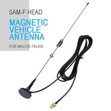 Автомобиль магнитный двухдиапазонная антенна рации поддерживают для Baofeng UV5RA UV5RE UV5RD рации антенны вспомогательное оборудование частей