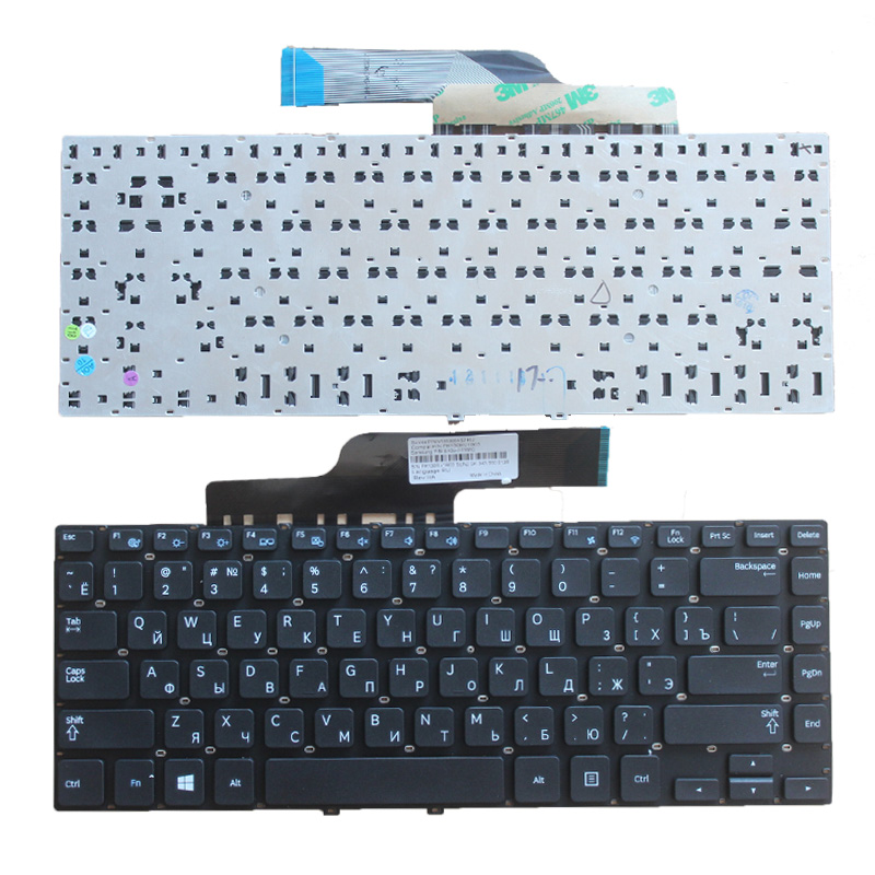 NEW Russian Keyboard For Samsung 355V4C 350V4C NP355V4C NP350V4C RU Laptop Keyboard PK130RV1B03 Black