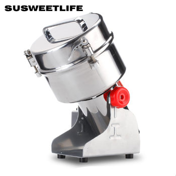 Grains Spices Hebals Cereals Coffee Dry Food Grinder Mill Grinding Machine Gristmill Home Medicine Flour Powder Crusher 400w electric coffee grinder mini grains spices hebals cereals coffee dry food grinder mill grinding machine kitchen appliance