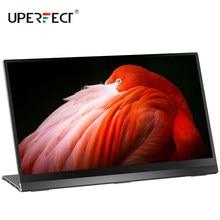 Uperfect Ultra FHD 4K IPS Bildschirm 10 Punkt Touch G-Sensor Tragbare Monitor 15,6 zoll Display für Tiktok camgirl Live-Show