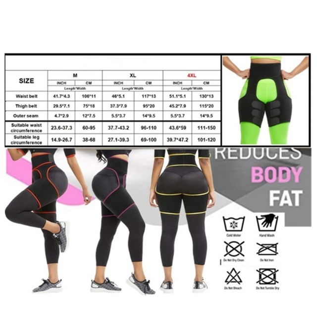 Slim Sweat Thigh Trimmer Leg Shapers Slender Slimming Belt Sweatband Shapewear Toned Muscles Band Thigh Slimmer Wrap 1