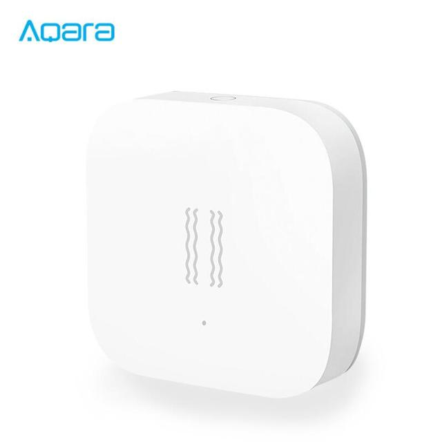 Aqara Vibration sensor and Sleep sensor Valuables alarm Monitoring vibration shock work Smart home App original