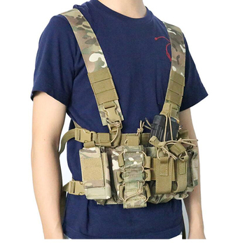 Military Equipment Tactical Vest Airsoft Paintball Carrier Strike Chaleco Chest Rig Pack Pouch Light Weight Heavy Duty Vest army tactical carrier armor chest rig vest harness rifle pistol magazine pouch crx hunting equipment accessories 5 56