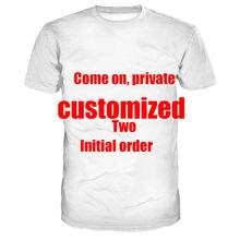 T-shirt surdimensionné pour hommes, humoristique et personnalisé, avec deux pièces à la vente, collection 2020