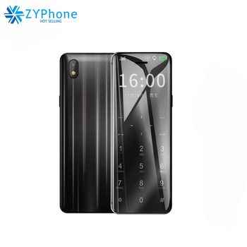 2019 Ulcool V99 Metal Body Cell Phone Bluetooth 2.0 Dialer Anti-lost Dual SIM Ultrathin Credit Card Mobile Telephone