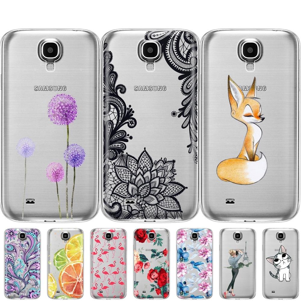 Coque souple de protection en silicone TPU, pour Samsung Galaxy S4 I9500
