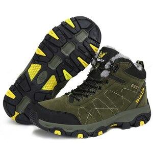 Image 5 - 가을 겨울 남성 하이킹 부츠 여성 운동화 등산 신발 전술 사냥 신발 새로운 클래식 야외 스포츠 남자