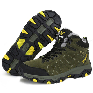Image 5 - סתיו חורף Mens טיולים מגפי נשים של נעלי ספורט נעלי טיפוס הרים טקטי ציד הנעלה חדש קלאסי חיצוני ספורט גבר