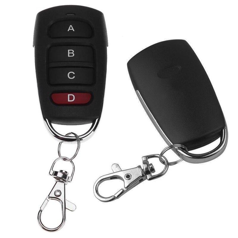 4 клавиши Беспроводной копия 433 МГц RF пульт Управление продажи копирующий код пульт Управление резервного копирования дистанционного элект...