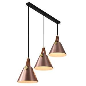 Image 5 - Modern Leather Hanging Lights Norlux Fancy Europe Pendant Lamp LED Aluminum Fixture Home Decoration Dinning Table Bar Bedroom