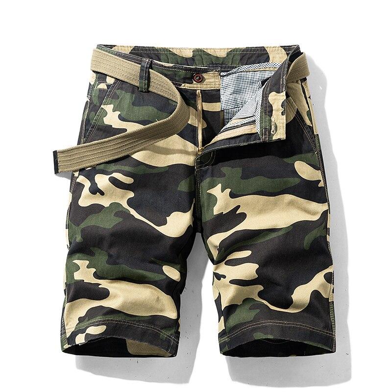 Shorts Men New Fashion Joggers Camouflage Short Mens Cargo Shorts Summer Body Fitness Short Male Clothing
