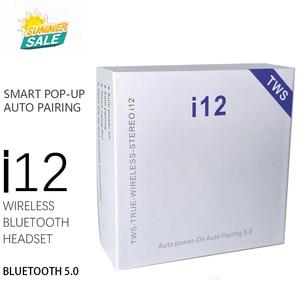 i12 tws inpods 12 Original Wireless Earphones Bluetooth 5.0 Headphone Headset Pop-up Earbuds Earpiece for xiaomi huawei phone