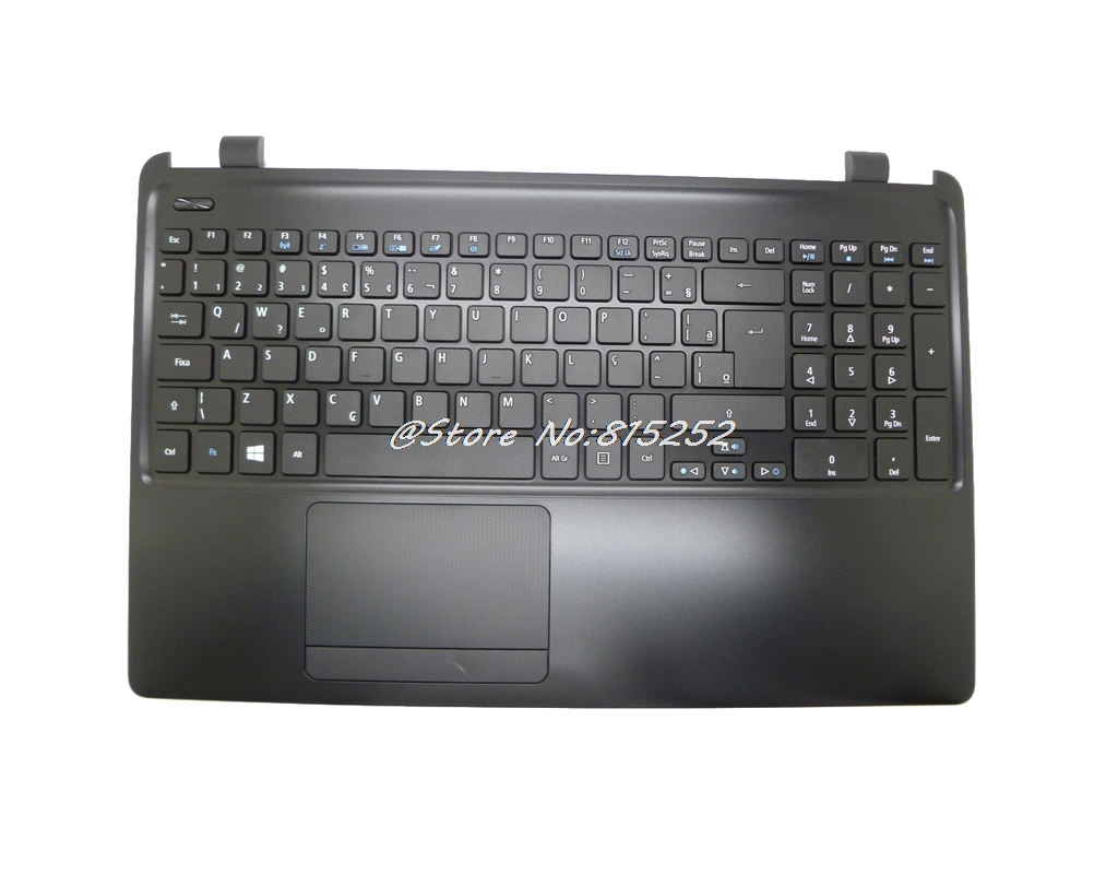 PalmRest& BR Keyboard For ACER For Aspire E1-522 39.4YU02.002-1 MP-10K36PA-4421W 90.4YU07.C1B NK.I171305G MP-10K3 BR C Cover
