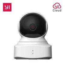 YI bulut ev kamerası 1080P HD kablosuz IP güvenlik kamera Pan/Tilt/Zoom kapalı gözetleme sistemi gece görüş hareket algılama