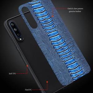 Image 2 - Housse de téléphone en cuir véritable naturel pour Samsung Galaxy A30 A30S A50 A51 2019 A 20 30 50 S Global 32/64 GB pare chocs