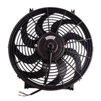 12V Electric Car Fan Cooling Low Noise Summer Car Air Conditioner Fan Portable Vehicle Truck Auto Oscillating Cooling Fan Cooler