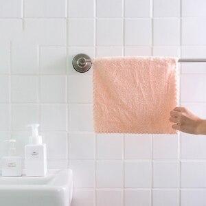 Image 5 - GIANTEX mały ręcznik do twarzy z mikrofibry Super chłonny łazienka ręczniki dla dorosłych 30x30cm toallas serviette recznik handdoeken