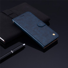 Luxury Leather Wallet Case For Xiaomi Mi A3 Cover Retro Card