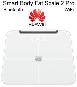 Huawei Smart Body Fat Scale 2 Pro 2020 Fat Accurate Measurement Alarm Clock Bluetooth WiFi Health and Sports Private Coach