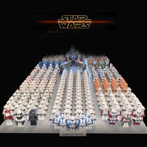 Star SW445 Wars 501st clone Legion Trooper Storm Commander Clone Figures compatible building blocks Kids toys 21pcs/lot NEW