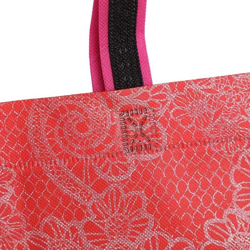 المحمولة طوي حقيبة تسوق سعة كبيرة مقاوم للماء حقيبة يد سميكة Ripstop