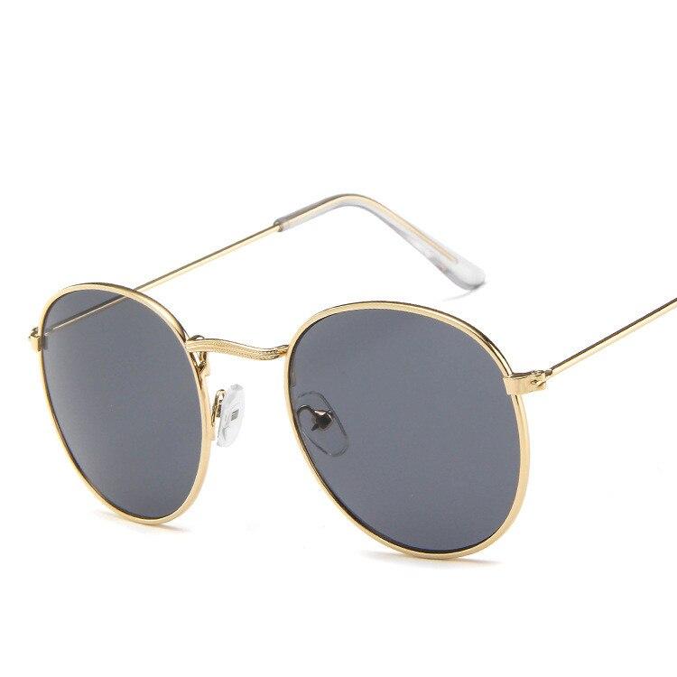 2020 Luxury vintage Mirror Brand Designer Sunglasses Women/Men Classic Round Outdoor Sun Glasses UV400  Oculos De Sol Gafas 6