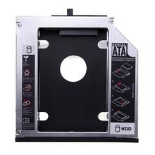 "12.7mm SATA 3.0 2nd HDD Caddy for 2.5"" 2TB SSD Case Hard Disk Enclosure with LED for Laptop CD-ROM Optical Bay(China)"