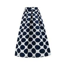 Летняя новая стильная юбка женское платье Европа и Америка Amazon Ebay винтажная юбка с принтом