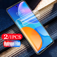 2-1 pz pellicola protettiva morbida per huawei p smart Z S 2021 2020 pro 2019 plus 2018 pellicola salvaschermo per telefono hydrogel non in vetro
