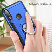 GKK Case for ASUS Zenfone Max Pro M2 Case Finger Ring Armor Protection Shockproof Cover for Zenfone Max Pro M2 ZB631KL Fundas