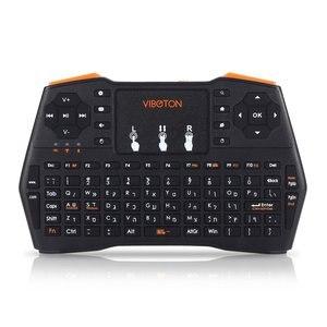 Профессиональная мини-клавиатура I8 Plus, 2,4 ГГц, беспроводная воздушная мышь, подсветка, тачпад, пульт дистанционного управления, тачпад для п...