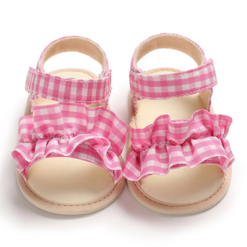 2020 New Brand Kid Toddler Baby Girl Sandals Party Princess Sandals Summer Ruffle Beach Shoes