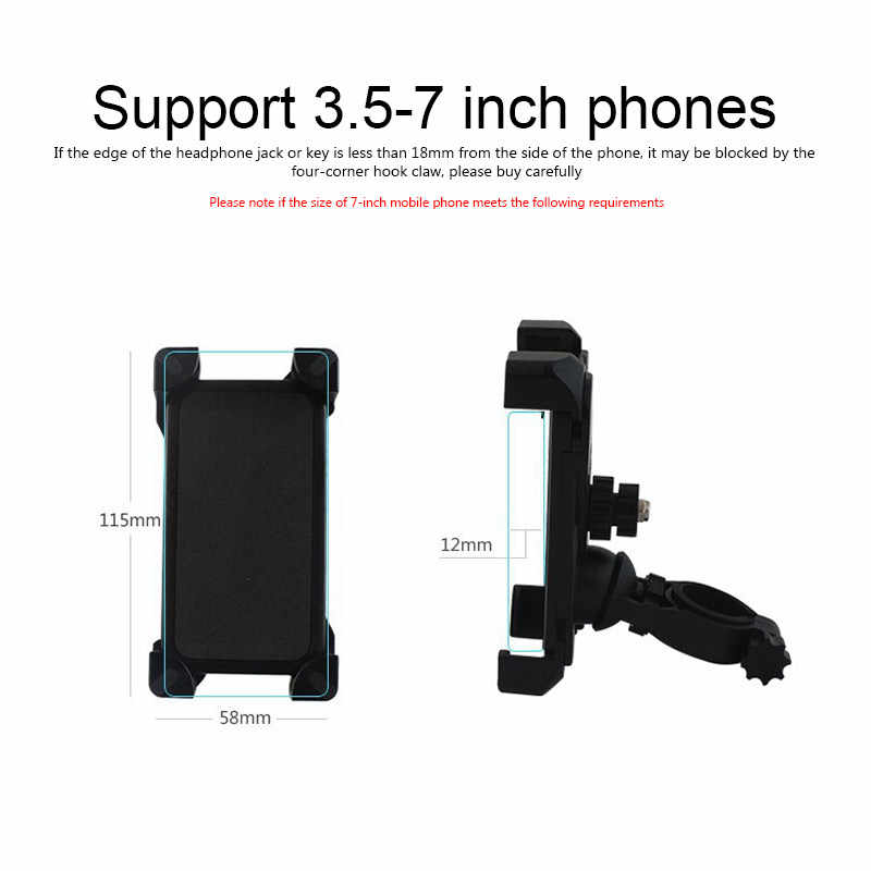 Mobile Cell Phone Holder Mount Stand For Xiaomi Mi Mijia M365  Electric Scooter