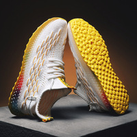 Fly woven shoes male color coconut summer end of 4 d print jelly character shoes, leisure shoes men's sport shoes