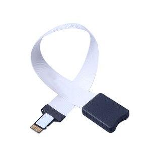 Image 2 - Elistooop câble dextension flexible TF vers Micro SD TF câble dextension zippée carte mémoire cordon dextension Linker 25 48 62CM
