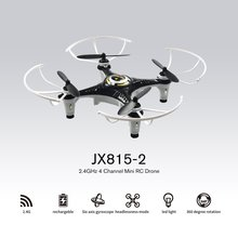 JX815-2 Mini RC Drone 2.4GHz 4 Channel Drone 360° Rolling Q