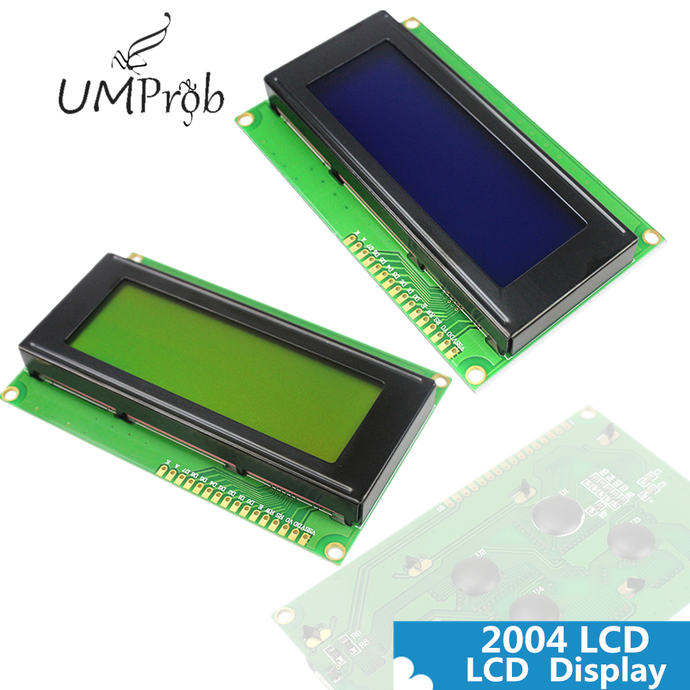 LCD 2004 Module With 5V Backlight 20x4 LCD2004 Display LCD Module LCD For Arduino