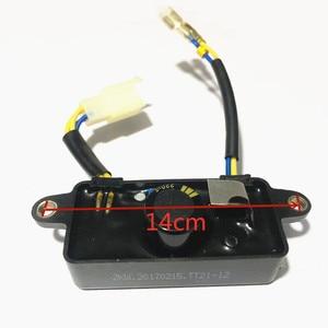 Image 5 - Lihua AVR Automatische Spannungs Regler Für Generator Teile 2KW 2,5 KW 3KW 6 Drähte TT21 12 Mit Schutz Schaltung Brechen Funktion