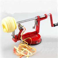 1Set 3in1 Fruit Tools Apple Slinky Machine Peeler Fruit Cutter Slicer Kitchenware Apple Peeling Machine