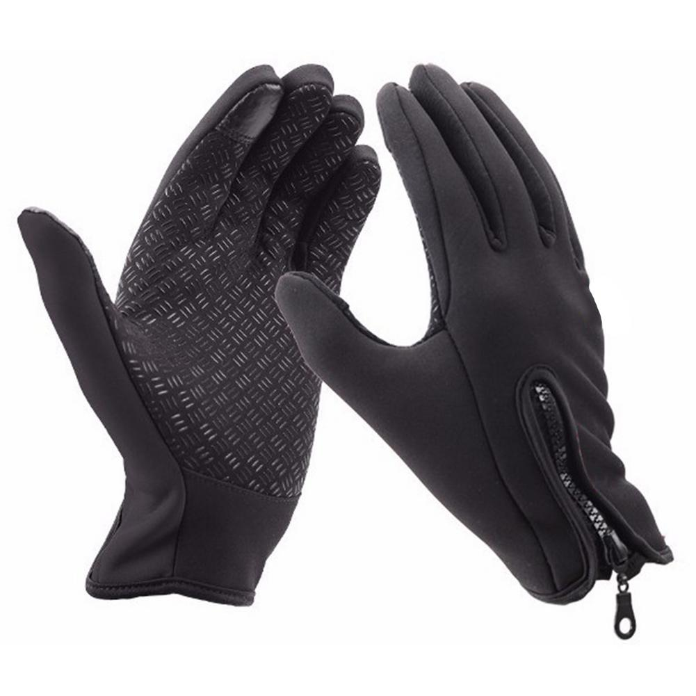 Unisex Winter Warm For Touch Screen Smart Phone Glove Fleece Windproof Warm Touch Screen Hand Gloves Outdoor Riding Gloves Sale