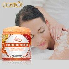 Купить с кэшбэком Grapefruit Scrub Body Scrub Cream Facial  Dead Sea Salt For Exfoliating Whitening Moisturizing Anti Cellulite Treatment Acne