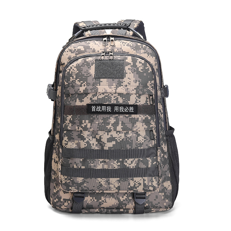 Hot Selling Jedi Survival Chicken Backpack Level Three Backpack Mountain Climbing Sports Shoulder Camouflage Waterproof Tactical