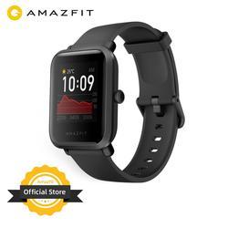 В наличии 2020 Global Amazfit Bip S Smartwatch 5ATM водонепроницаемые встроенные GPS GLONASS Bluetooth Смарт-часы для Android iOS Phone